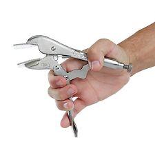 Sheet Metal Locking Tool 8in Vise Grip Plier Crimper Bending Steel Clamp Hand