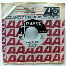 ROBBS 45 A good time song / Changin winds ATLANTIC promo Mod Beat popcorn  d2053