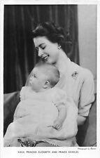 POSTCARD   ROYALTY   Princess  Elizabeth  and  Charles      Tuck