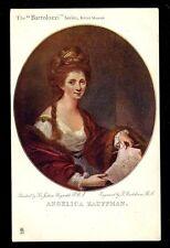 Angelica Kauffman Tuck #1742 from Joshua Reynolds painting PPC