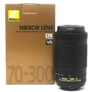 Nikon AF-P DX NIKKOR 70-300mm f/4.5-6.3G ED VR - UK NEXT DAY DELIVERY