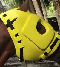 Horse, Mule Adjustable Thickly Padded Head ~ Facial Equine Helmet ~ Many Uses