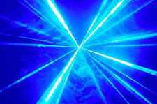 BRIGHT BLUE DISCO DJ LASER LIGHT - UK FREE NEXT DAY DELIVERY