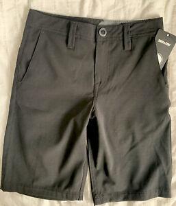 *NWT* Volcom * Big boys Amphibian Chino shorts*sz 26*so cute*