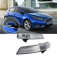 2X For Ford Ford Focus Wing Mirror Indicator Light 2008-2016 Right & Left Side