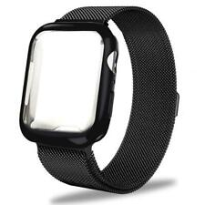Henstar Compatible with Apple Watch Band 44mm, Stainless Steel Mesh Milanese Spo