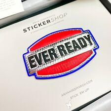"""Genuine Anya Hindmarch """"Ever Ready"""" Metallic Leather Sticker RRP: £75 LIMITED."""