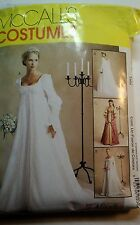 McCalls P238 Alicyn medieval Gown Costume  sewing pattern size 10-12-14