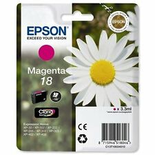 1 Magenta Original Epson Xp-30 xp-225 xp-322 xp-405wh xp-412 xp-422 Cartucho De Tinta