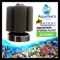 2 x PIECE MINI HI-FLOW SPONGE FILTER FISH TANK WATER PUMP OXYGEN SUBMERSIBLE