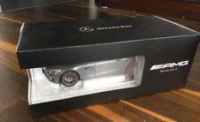 Mercedes C190 AMG GT S selenit grau magno Modellauto Norev 1:18