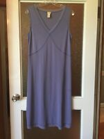 (ID2012)J.Jill 🍾V Neck Periwinkle Dress size Medium NWOT great4🎄parties!