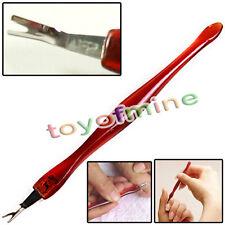 4pcs High Cuticle Pusher Trimmer Cutter Remover Manicure Pedicure Nail Art Tool