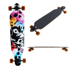 "Professional 41"" x 9 3/4"" Longboard Skateboard Cruiser Through Downhill Complete"