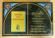 NEW - Divinity The New Catholic Catechism Learning System Bible Study Board Game