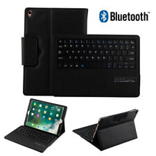 NEW Removable Bluetooth Keyboard Case Flip Leather Cover For 2017 iPad Pro 10.5""