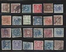 Austria 1910s - 1920s Newspaper Lot with Private Perforations