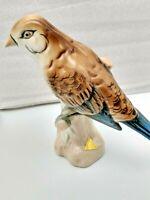 "Royal Dux Bohemian Porcelain Bird Figurine # 363 (6.5"" width x  6"" tall)"