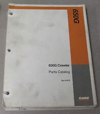Case 650G Crawler Tractor Parts Manual Catalog 8-9701 1996
