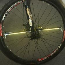 Programmable RGB 128 LED DIY Bike Cycling Bicycle Wheel Tire Spoke Light U5L1
