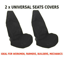 2x CAR FRONT SEAT COVERS PROTECTOR For Land Rover Defender