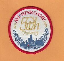 1983 50TH ALL STAR GAME UNIFORM PATCH CHICAGO WHITE SOX Unsold Stock