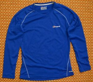 Berghaus - Argentium Long Sleeves Tech Shirt, Size Small