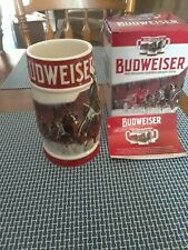 2018 Rare Budweiser Holiday Stein