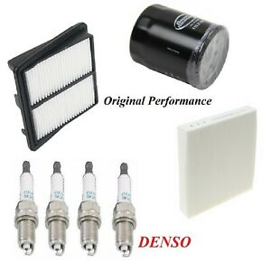 Tune Up Kit Air Cabin Oil Filters Spark Plugs For HONDA FIT L4 1.5L 2007-2008