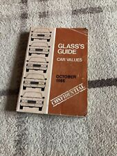 Glass's Guide Car Values Confidential October 1986
