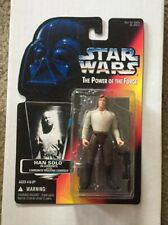 Star Wars Han Solo In Carbonite Power Of The Force Red Card POTF