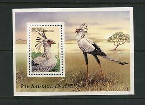 G030 Central Africa 1997 birds sheet MNH