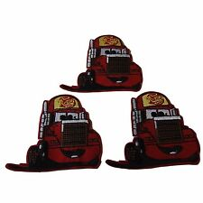 Disney's Cars Movie Mack the Trailer Figure Embroidered Patch Set of 3