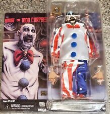 """NECA CAPTAIN SPAULDING 8"""" CLOTHED FIGURE (SID HAIG), HOUSE OF 1000 CORPSES (NEW)"""