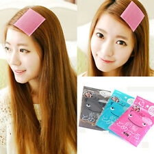 4pcs Magic Velcro Hair Stickers Front Hair Fringe Grip Holder Bangs Paste Hair