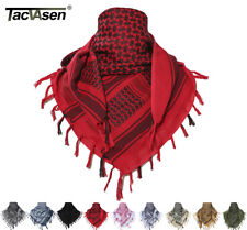 Cotton Safari Keffiyeh Tactical Desert Scarf Wrap Shemagh Head Neck Arab Scarfs