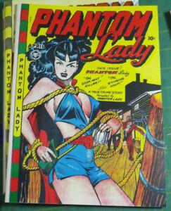 Phantom Lady 17, Matt Baker, !! EXACT, HIGHEST QUALITY FACSIMILE REPRODUCTION!