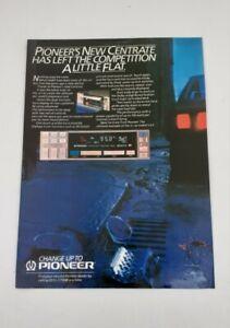 Original Advert - Pioneer Centrate from 1984 - Original Advertisement