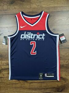 Nike Swingman Washington Wizards John Wall Jersey Brand New Size Large