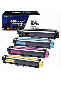 TN241/TN245Toner Cartridge Set Compatible for Brother TN241DCP-9020CDW HL-3140CW