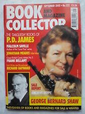 Livre Et Revue Collector.p D James, Dalgliesh.no 222, Sep 2002.G B Shaw.bellamy