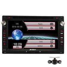 """Rückfahrkamera+7"""" 2 Din Autoradio GPS Navi DVD Player Radio DVB-T Mirror Link DE"""