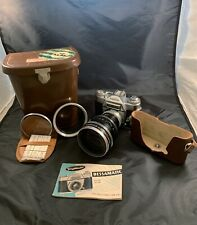 Voigtlander Bessamatic Camera With Zoomar 36mm 82mm Complete Set Case And Lens
