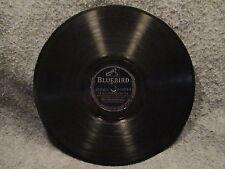 "78 RPM 10"" Record Alvino Rey Dearly Beloved & Im Old Fashioned Bluebird B-11579"
