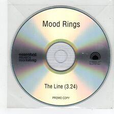 (FE982) Mood Rings, The Line - DJ CD