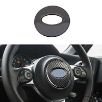 Carbon Fiber Steering Wheel Cover Frame Trim For SUBARU BRZ TOYOTA 86 2015