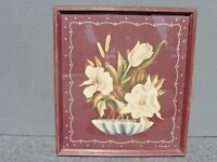 Vintage Turner Framed Floral Picture