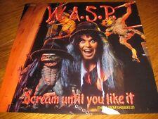 "W.A.S.P.-Scream until you like it 12"",EMI Netherlands 1987,sehr rar,unplayed,new"