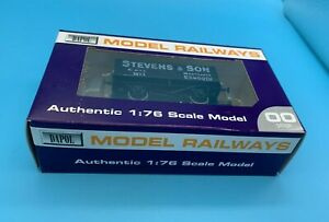 DAPOL OO GAUGE - STEVENS & SON COAL WAGON EXMOUTH - LIMITED EDITION - BOXED