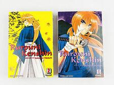 Vintage 1994 Rurouni Kenshin 3-In-1 Vol. #2 and #5 Japanese Shonen Jump Manga